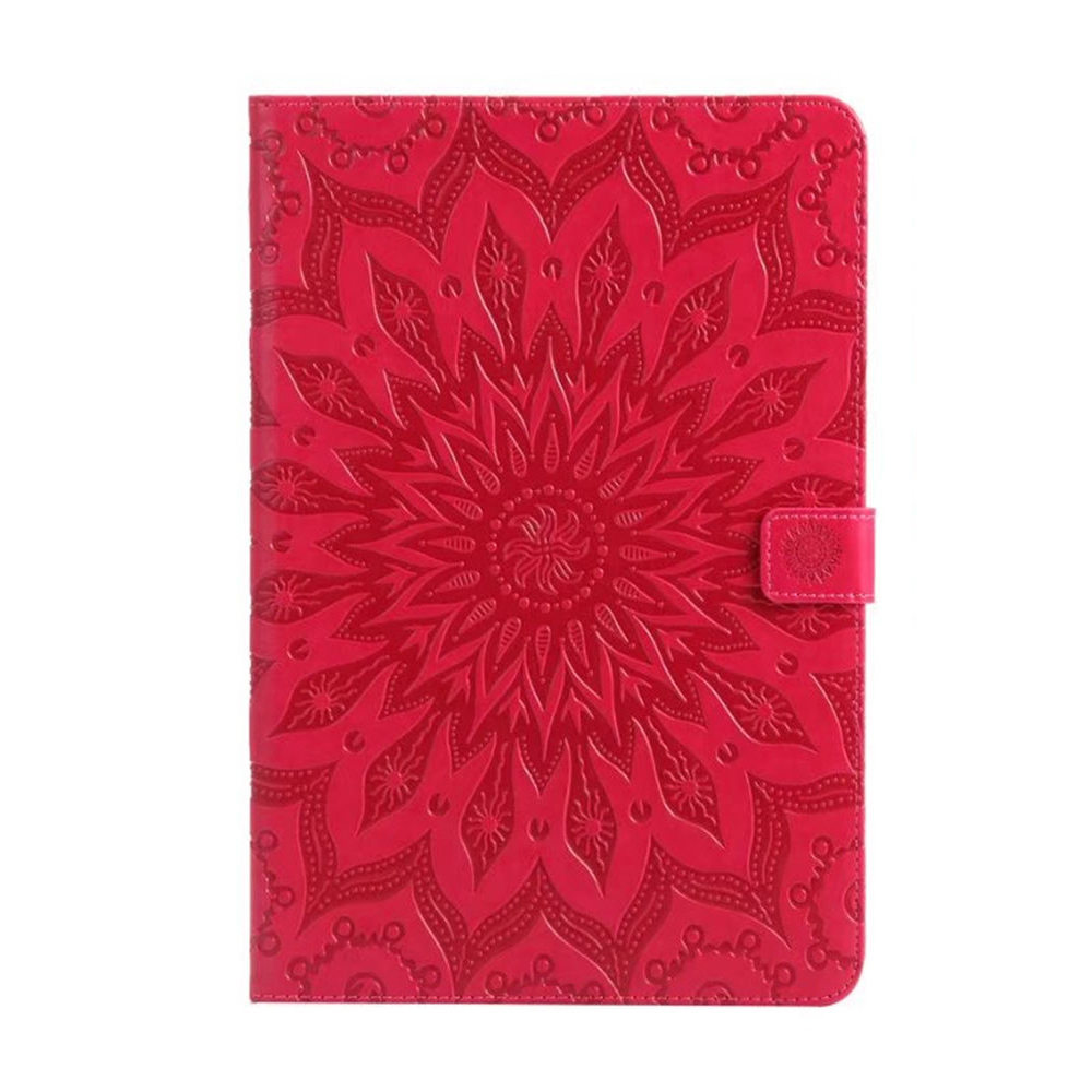 Luxury Embossing Case For Samsung Galaxy Tab A 9.7 Inch SM-T555 T550 P550 PU Leather Stand Flip SM-T550 Tablet Protective Cover