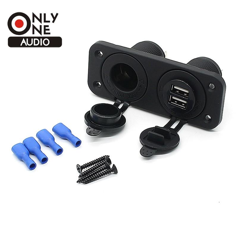 Только один аудио Автомобиль-Стайлинг лодка розетку мини двойной тестер Разветвитель USB Автомобильное зарядное устройство перевернутый ав…