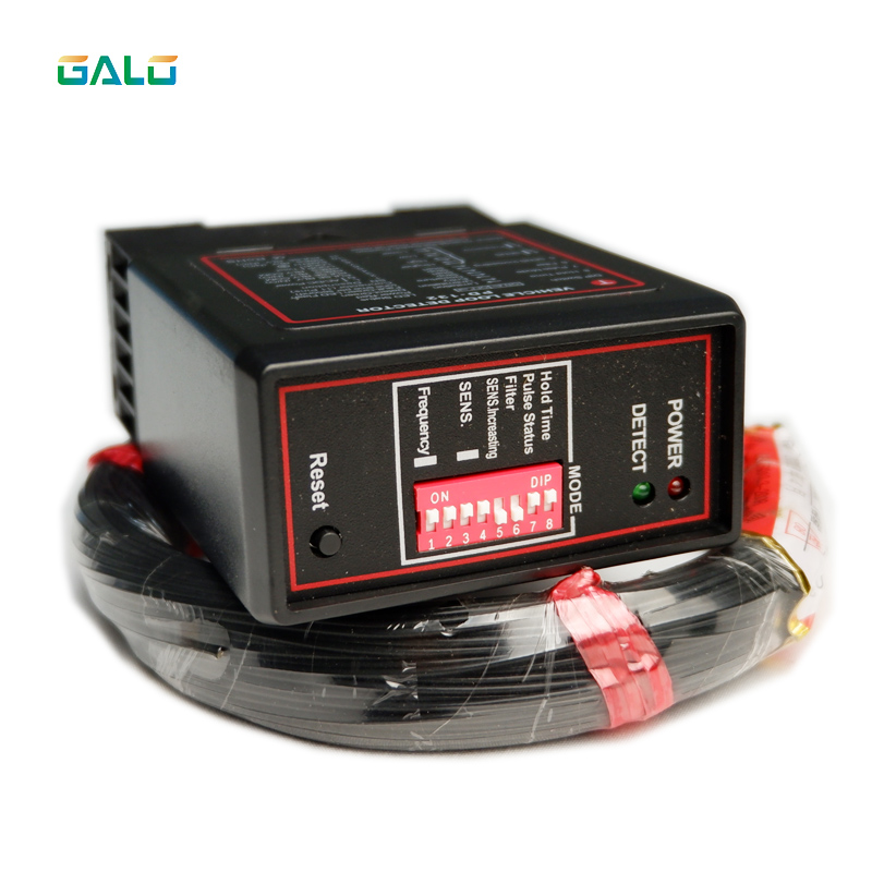 50m Cable Single Channel Inductive Vehicle Loop Detector For Gate Barrier Operators