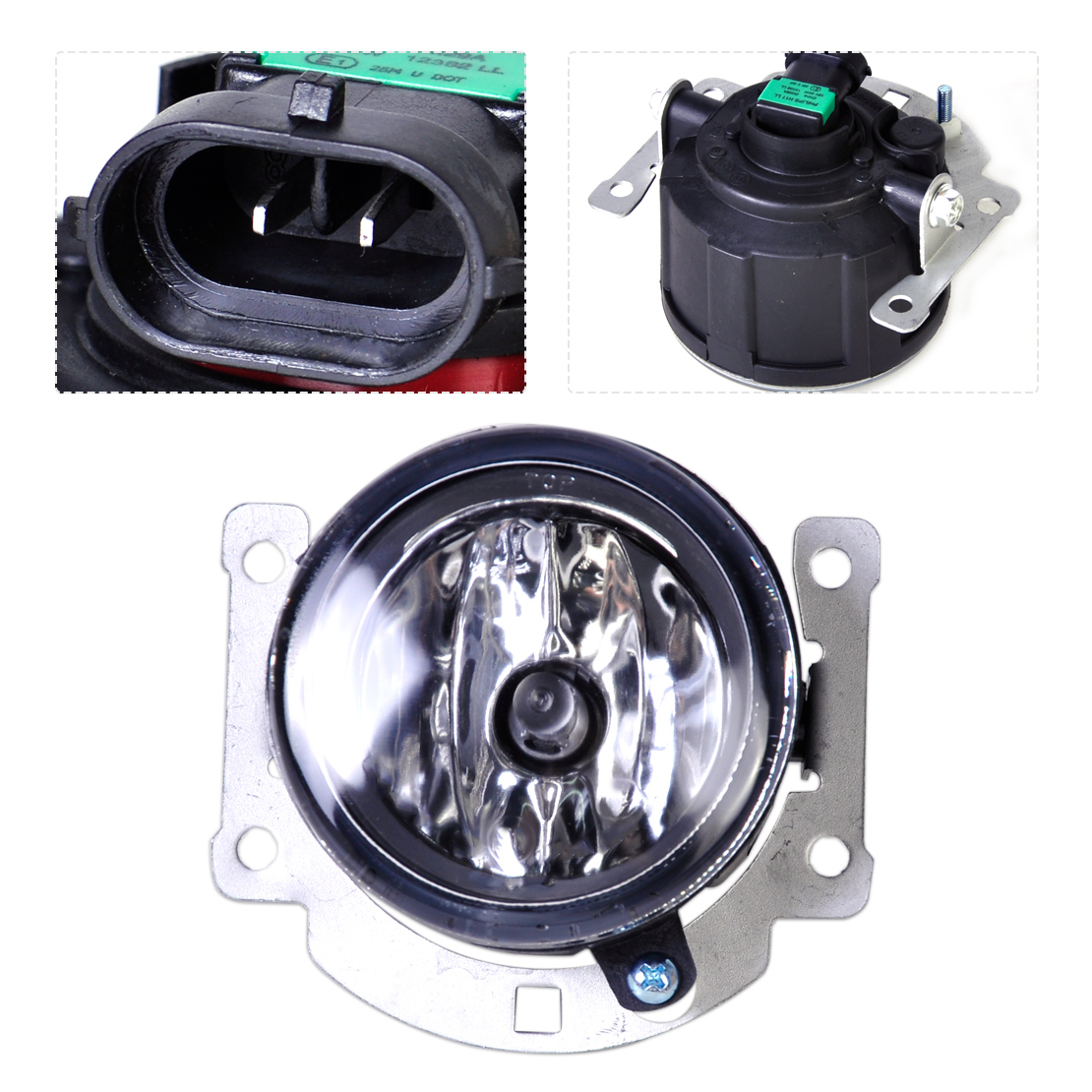 DWCX 8321A467 SL870-1 1pc Left = Right Side Front Fog lamp Light Fit for Mitsubishi ASX Outlander Sport / RVR small micro beads polishing lathe cutting car beads machine mini diy woodworking turning lathe c00108