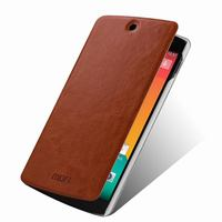 Genuine Leather Wallet Stand Case For LG Google Nexus 5 E980 D820 D821 Mobile Phone Bag