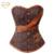 Moda Retro Atractivo Deshuesado Acero Cintura Corsés Mujeres Steampunk Brocade Corset Reductora Bustiers para Los Regalos de Las Mujeres S-2XL