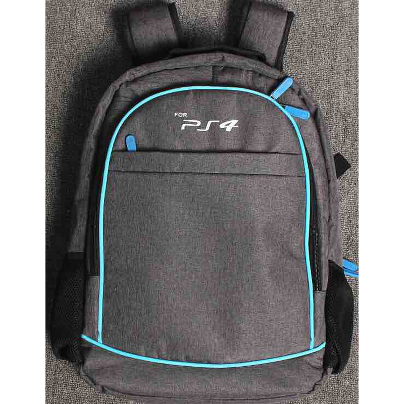 Купить с кэшбэком Travel Storage Carring Organizer Carrying Protective Case Shoulder Bag Backpack for PS4 Slim Playstation 4 Console Controllers