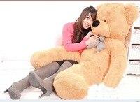 Чучело 180 см светло коричневый Мишка Плюшевые игрушки Мягкая кукла подушка подарок w2065