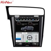KiriNavi Vertical Screen Tesla Style Android 6 0 10 4 Car Multimedia DVD Player For VW