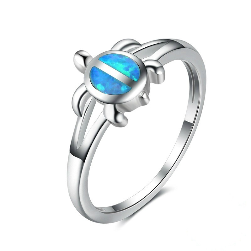 Detail Feedback Questions About Unique Silver Filled Blue Opal Sea