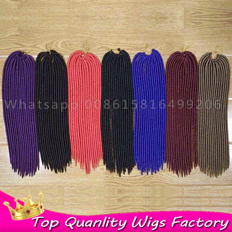 18inch crochet faux braids hair darling soft dreadlocks crochet 18inch crochet faux braids hair darling soft dreadlocks crochet hair styles dreadlock extensions twists synthetic dreads bug on aliexpress alibaba pmusecretfo Choice Image