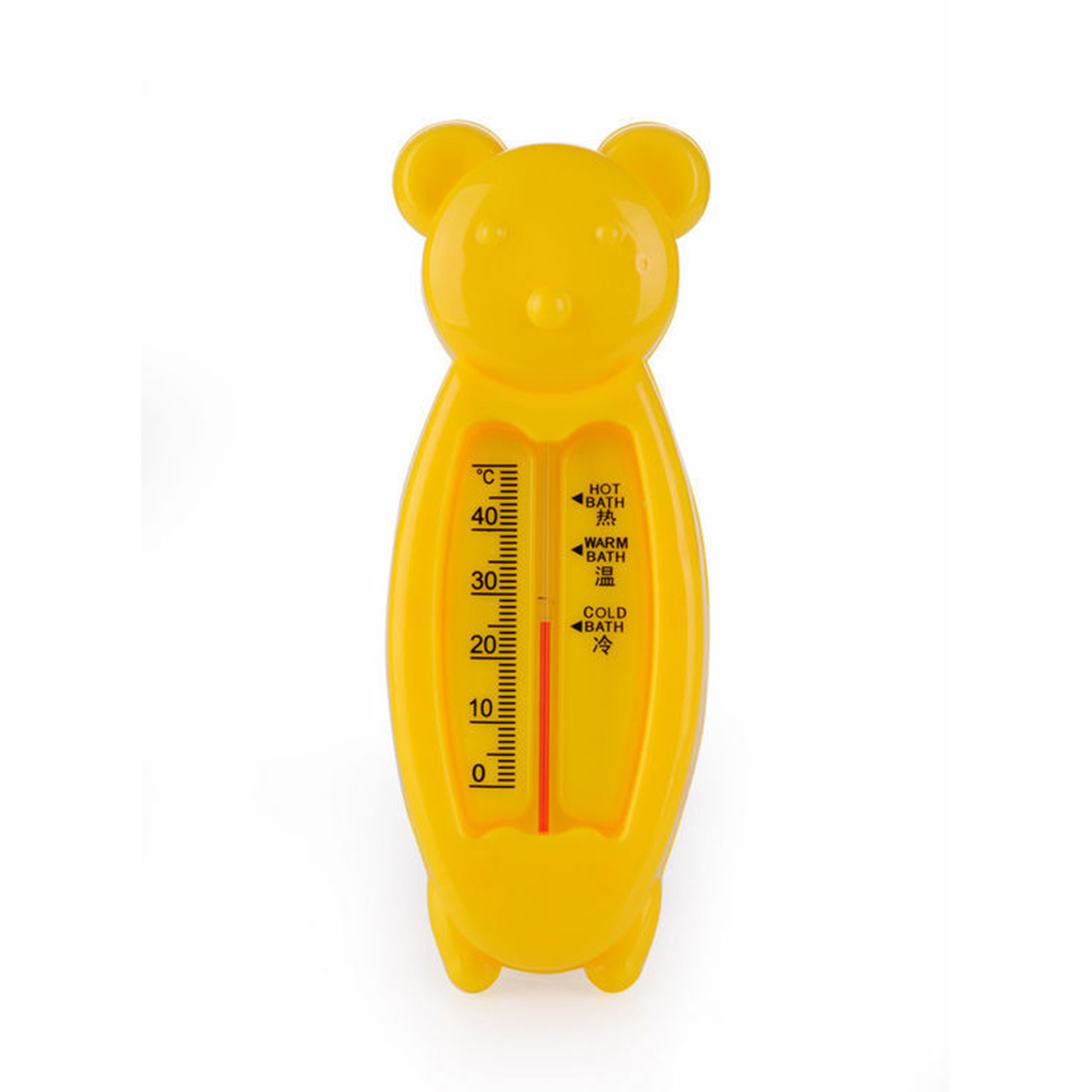 Floating Lovely Bear Float Baby Bath Toy Thermometer Tub Water ...