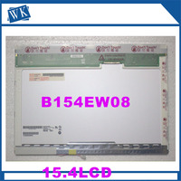 Free Shipping 15 4 Laptop Lcd Display Screen B154EW08 V 1 N154I3 L02 B154EW02 LTN154X3 LTN154at02