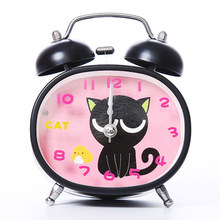 Children Cute Snooze Cartoon Alarm Clock Luminous Pokemon Toys Talking Clock Table Watch Despertador Bedside Clocks 50A0107(China)