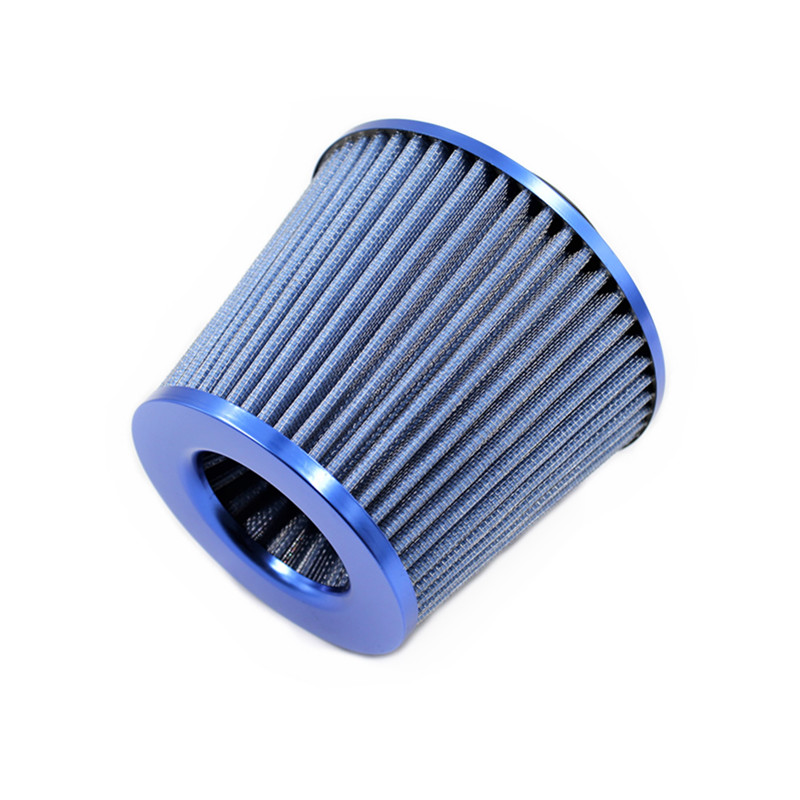 Image 5 - Universal Car Air Filters Performance High Flow Cold Intake Filter Induction Kit Sport Power Mesh Cone 55MM to 76MM-in Air Filters from Automobiles & Motorcycles