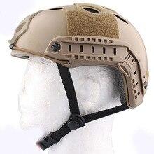 TOYL Военный Стиль SWAT Военные PJ Тип Быстро Шлем для Airsoft Пейнтбол CQB Стрелялки