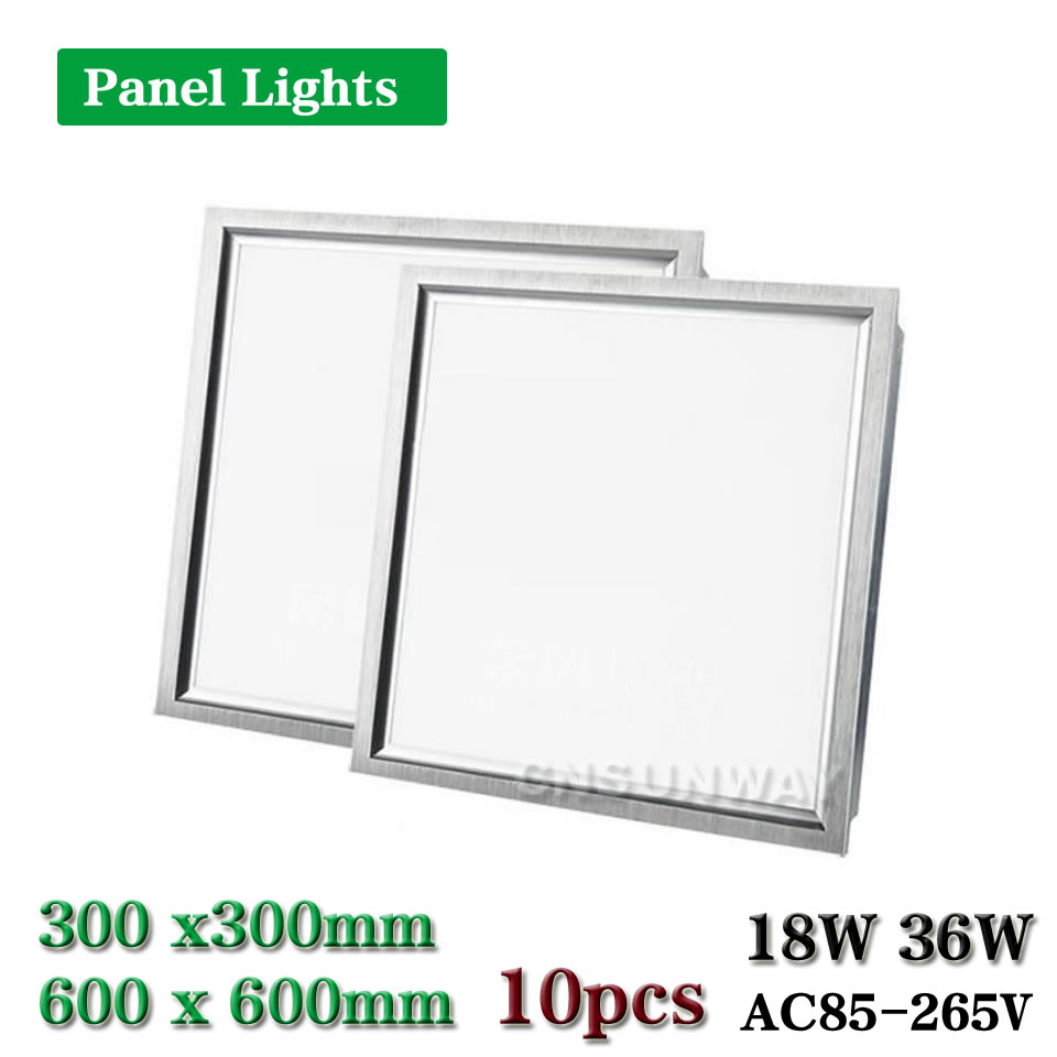 High quality with cheap price led panel light 36w 600x600 ac85 265v - Led Panel Light Square Lampada1x1 2x2 Ft 300x300mm 600x600mm 18w 36w High Bright Led Indoor Ceiling