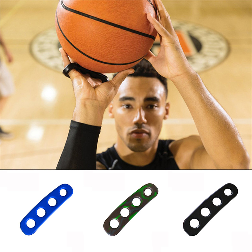 Silicone Gesticulation Shot Lock Basketball Ball Shooting Trainer Training Accessories Three-Point Size For Kids Adult Man Teens