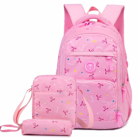 3687b4a9ae00 2018 Sets bag Oxford Canvas Backpacks New Fashion 3 Pcs School Bags for Teenager  Girls Big Capacity School Backpack Rucksack-in School Bags from Luggage ...