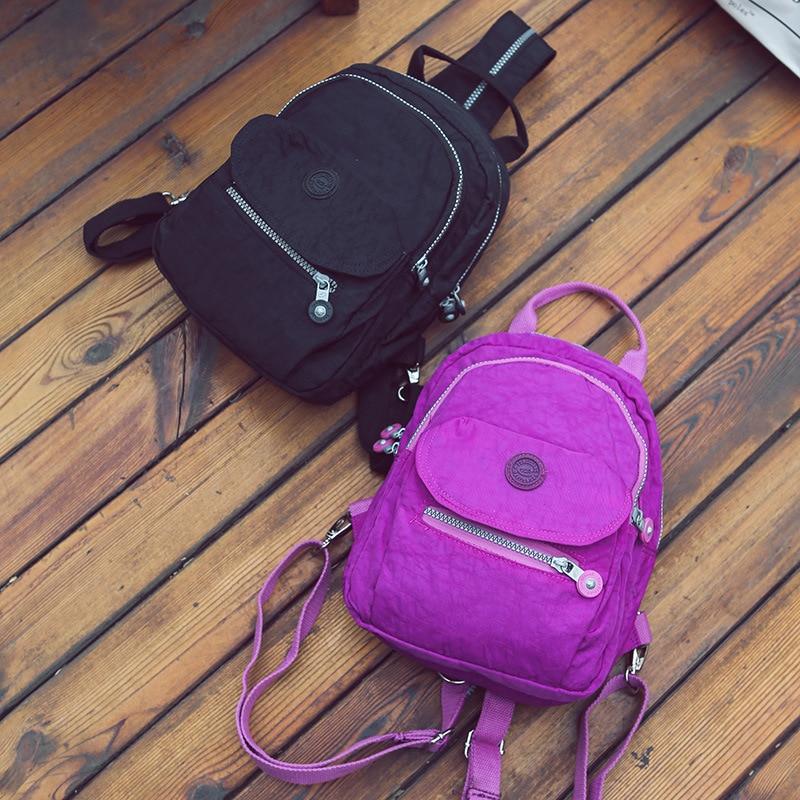 School Backpack for Teenage Girl Women Backpacks Nylon Waterproof Casual Laptop Bagpack Female sunborls brand women big backpack for teenage girl casual back bag schoolbag lady string backpacks female rucksack bagpack