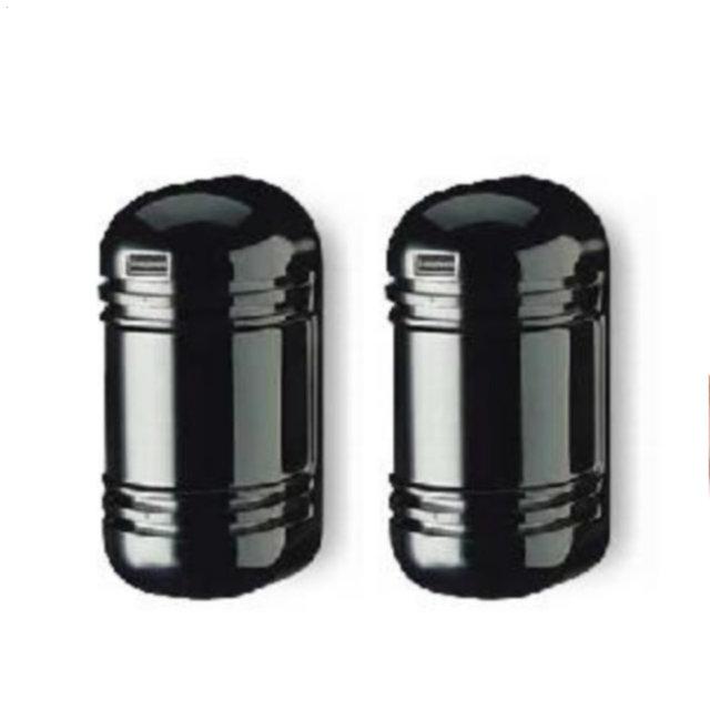 Doble Haz Fotoeléctrico Infrarrojo Activo Detector LED con Alarma de Manipulación De Salida para Al Aire Libre Cerca de Alarma dentro de 20-100 metros