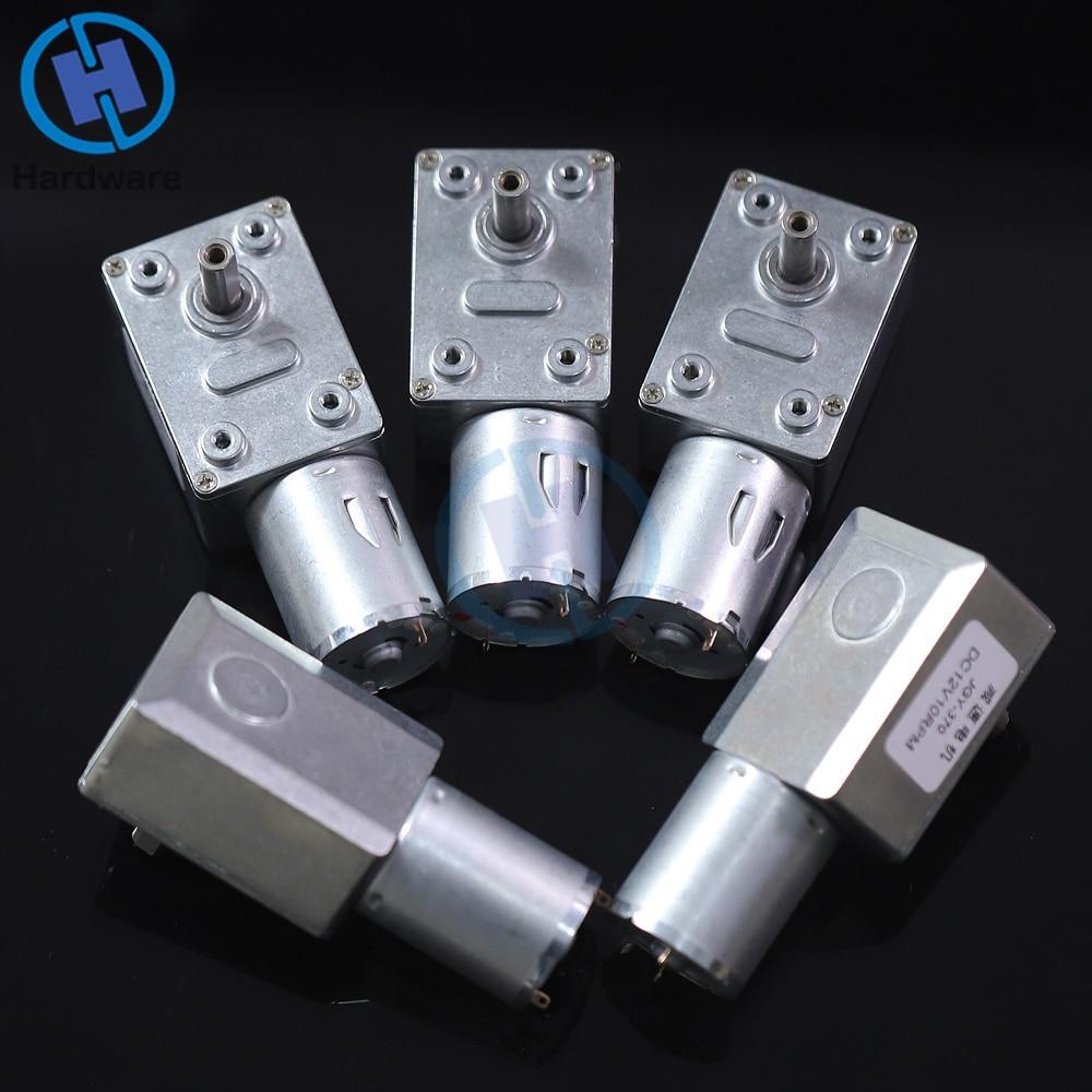 O turbocompressor alto reversível do torque alto alinhou o mini redutor bonde da caixa de engrenagens do motor da redução da engrenagem da c.c. 12 v 2-100 rpm