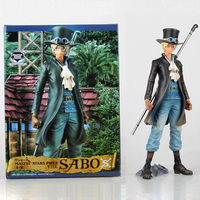 Anime One Piece Action Figure Sabo Chief of Staff of the Revolutionary Army PVC Action Figure Model Collection Toy 27CM