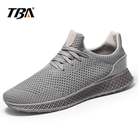 2018 TBA New Style Men's Running Shoes Outdoor Walking Jogging Sneakers Lace Up Mesh Athletic Shoes Breathable Soft Light Shoes