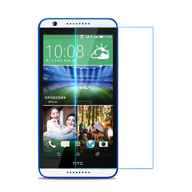 For HTC Desire 620 G 620G / 820 Mini 5.0inches screen protector tempered glass cover For htc desire 620G dual sim case HTC 620G