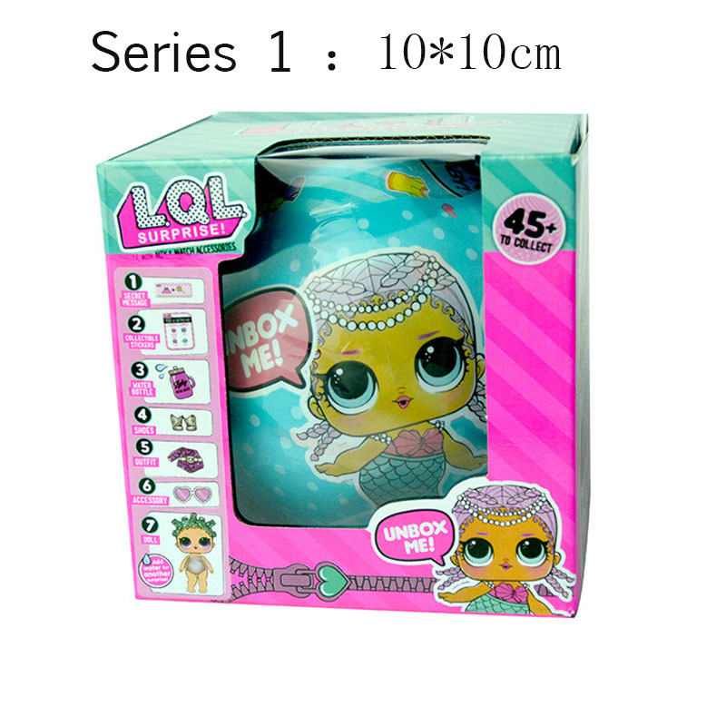 LOL SURPRISE DOLL LQL egg Baby Tear Open Change Egg Doll Action Figure Changing Toys For Children Gifts