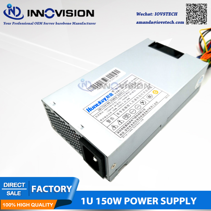 Best price hot sale small 1U power supply rated 150W FLEX used in 1U server/nas server psu