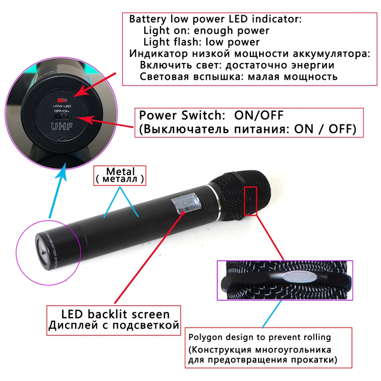 FB-U09 31  Wireless Microphones