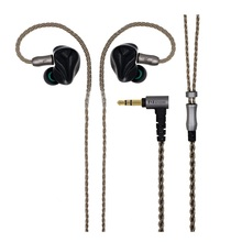 2017 New HZSOUND HD1  In Ear Earphone 6BA +6BA Unit  HIFI Monitor 3D Print Customized Earphone Sports Headset Free Shipping