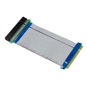 Image 2 - 핫 판매 32 비트 유연한 PCI 라이저 카드 익스텐더 플렉스 확장 리본 케이블 C0608 선물 도매