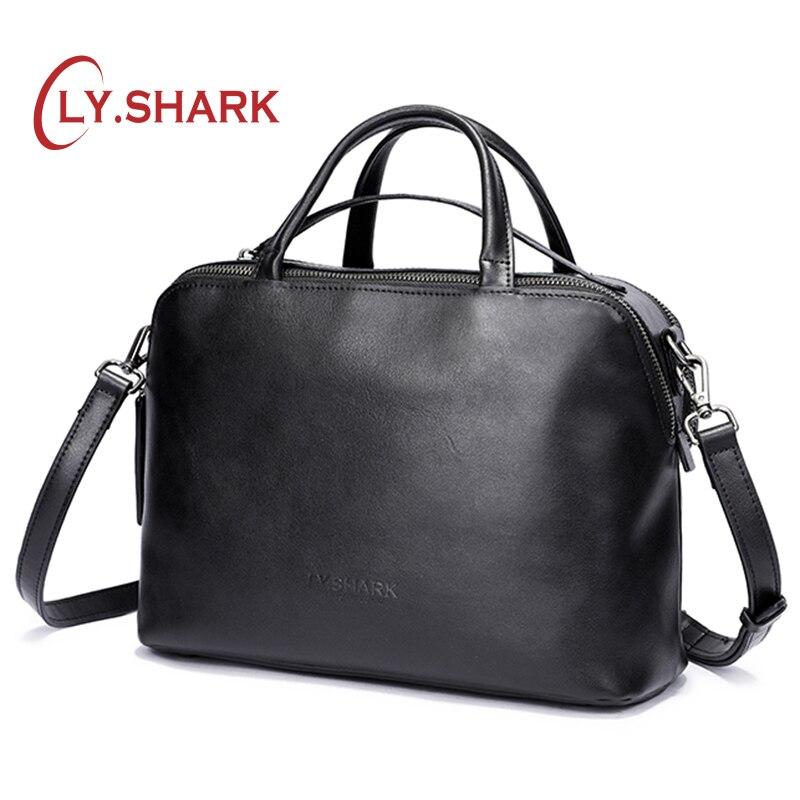LY SHARK messenger bag women shoulder bag handbag female bag ladies genuine leather crossbody bags for
