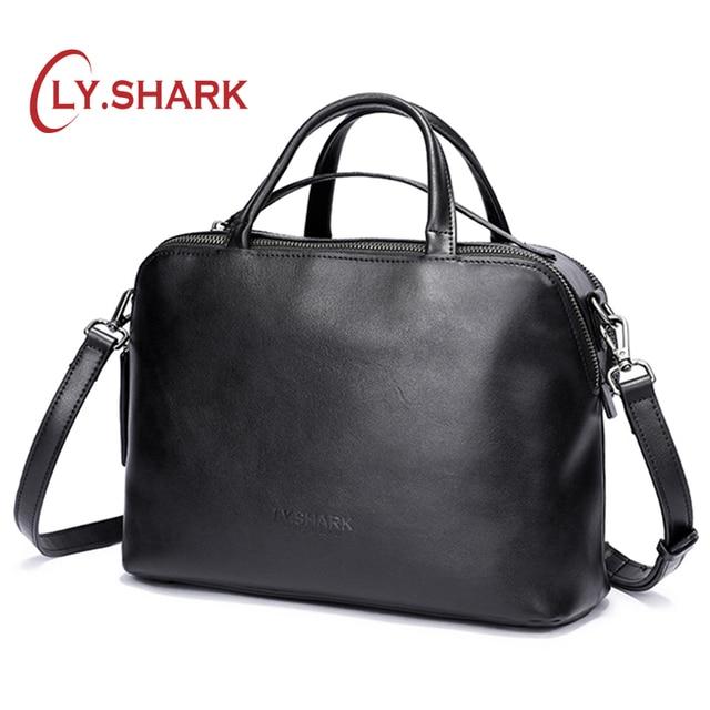 LY.SHARK messenger bag women shoulder bag handbag female bag ladies genuine leather crossbody bags for women 2019 luxury brand