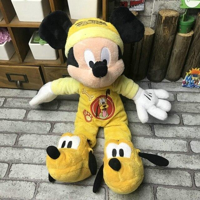 Rare Mickey Mouse Pluto Suave Lindo Kawaii Cosas Bebe Juguete De