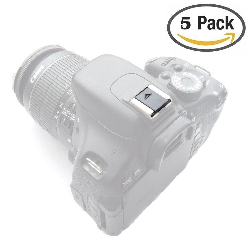 Hot Shoe Protection Cover for Canon for Nikon DSLR SLR Camera 5x White