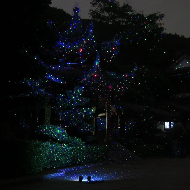 Outdoor Laser Projector Christmas Lights