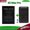 1Pack=1PC New 4000mAh Battery +1PC Charger For DOOGEE X5 Max Pro Smart Phone Bateria AKKU Accumulator + In Stock