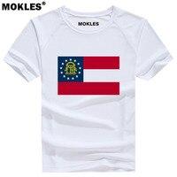 GEORGIA t shirt custom made name number USA Atlanta GA T Shirt america print Columbu Savannah Athen Augusta Macon Albany clothes