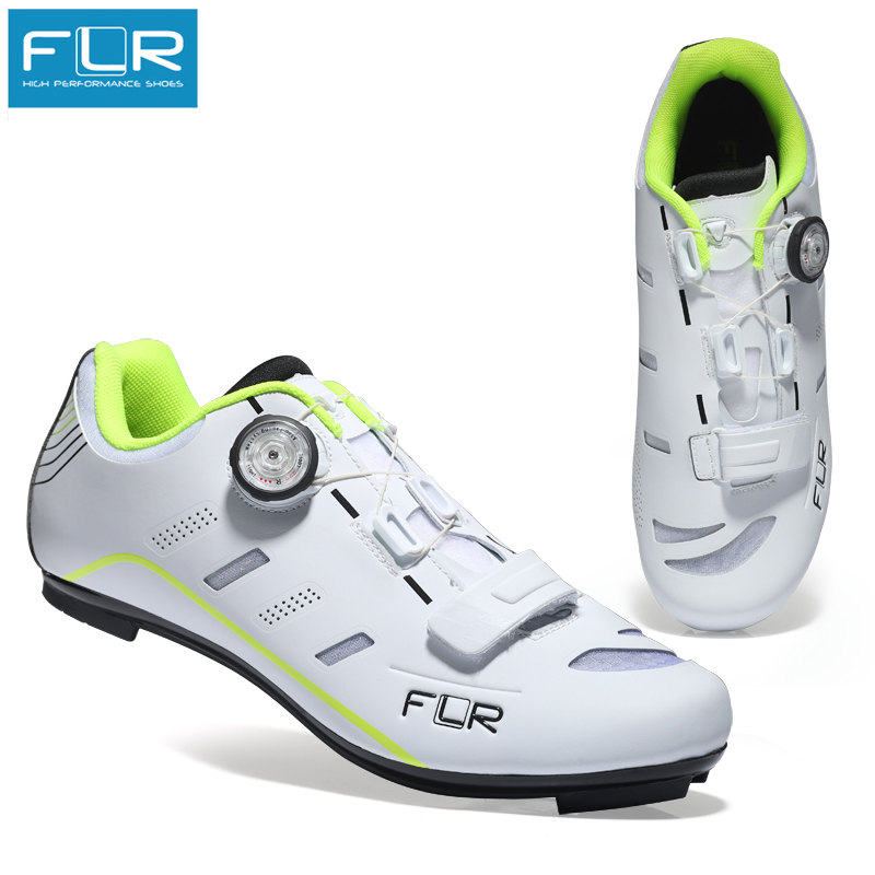 FLR FK F22 road cycling shoes carbon road bike shoes mens ultralight bicycle sneakers self locking
