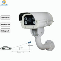 STARVIS SONY IMX327 1080P 2MP LPR AHD Camera Video Surveillance Security 6 22mm for Gateway Car License Plate number Capture