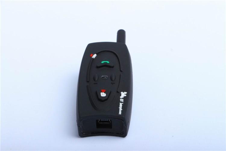 500M Wireless Bluetooth Motorcycle Helmet Intercom for 2 Riders Interphone Earphone Headset 1PcsSet (7)