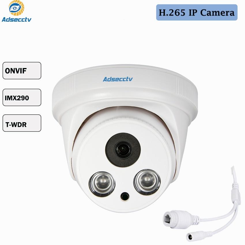 Sony IMX290 Sensor H.265/H.264 True WDR Starvis  Star light 2MP IP Security Camera 2pcs IR Night Vision IP Camera AR-IP2208SDSony IMX290 Sensor H.265/H.264 True WDR Starvis  Star light 2MP IP Security Camera 2pcs IR Night Vision IP Camera AR-IP2208SD
