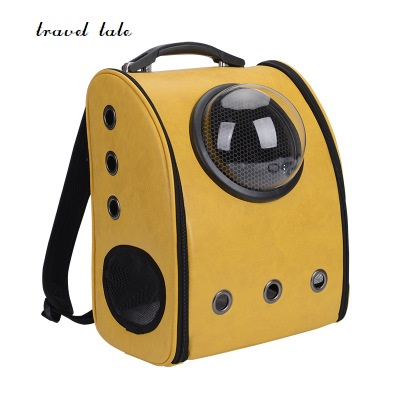 travel tale fashion cat and dog capsule pet bag Hand-held portable package/backpack travel tale fashion cat and dog capsule pet cartoon bag hand held portable package backpack