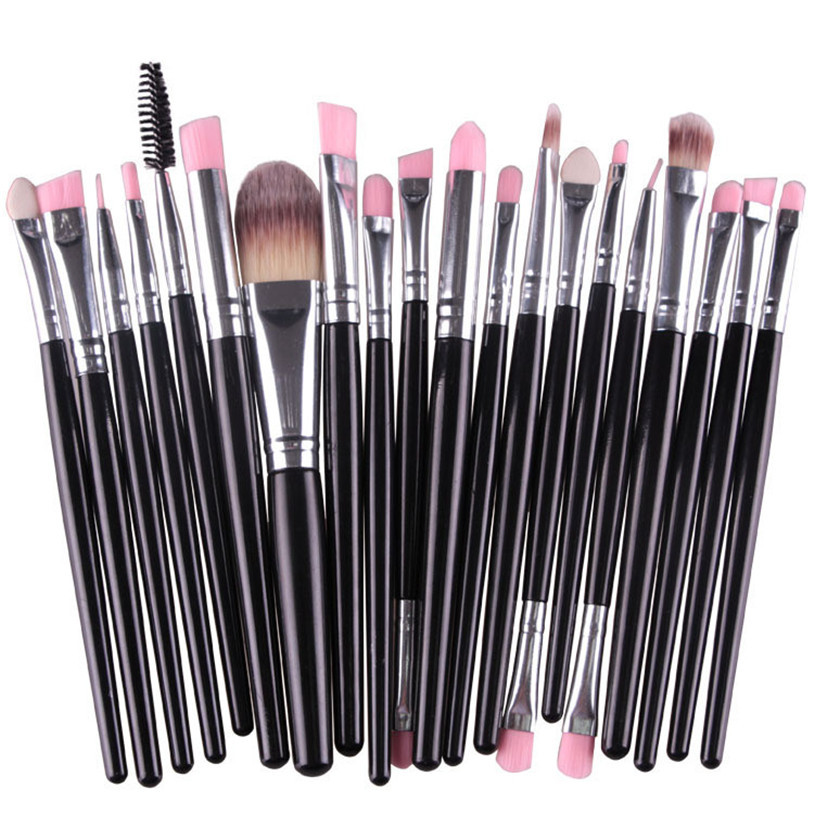 MAANGE make up brushes kwasten 20 pcs/set foundation eyebrow eyeshadow brush u71221 тушь make up factory make up factory ma120lwhdr04