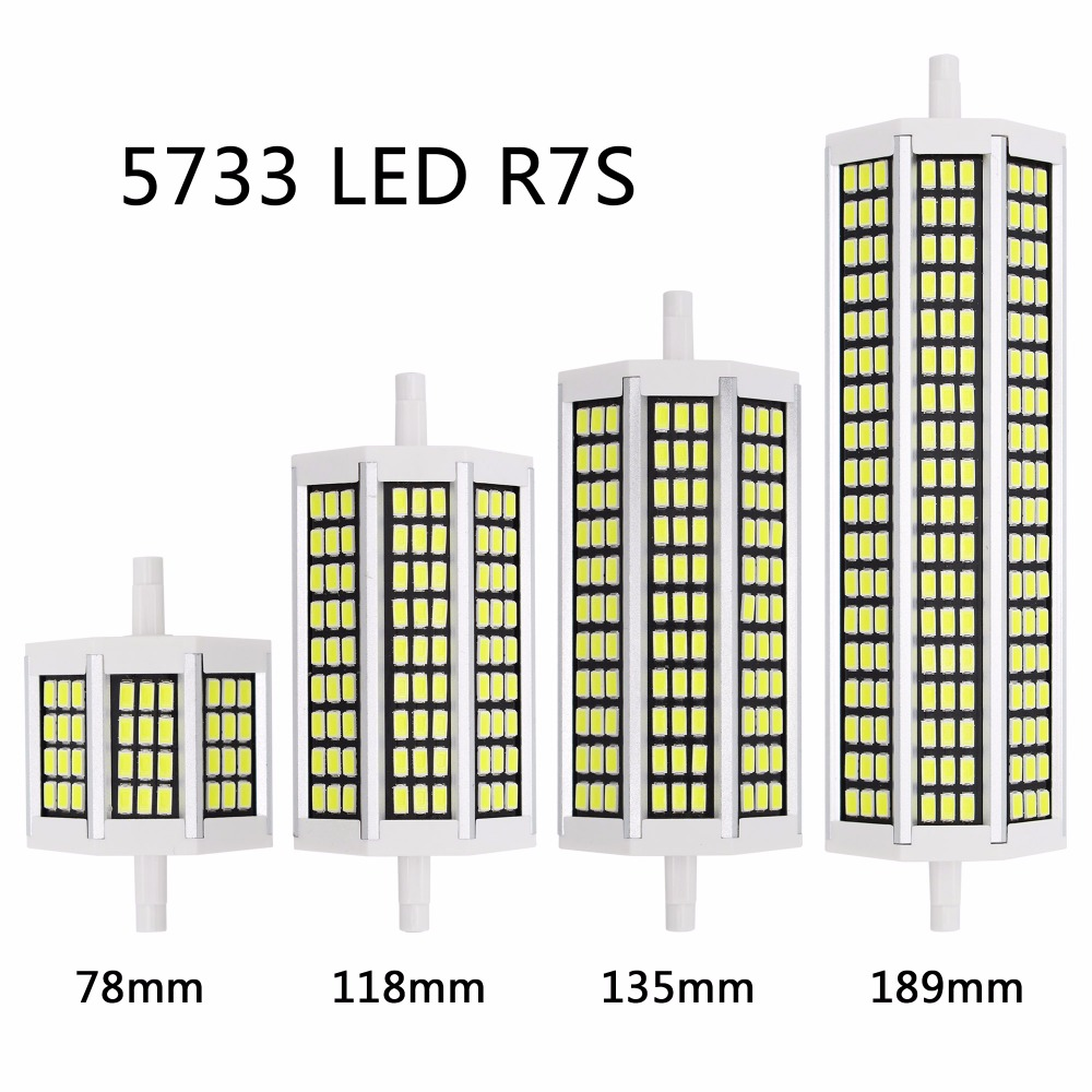 New 5730 smd led r7s 78mm 10w 118mm 20w lampadas led bulb for Led r7s 78mm 20w