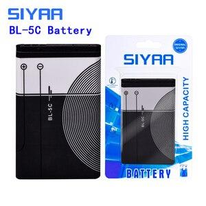 Image 4 - SIYAA Phone Battery BL 4C BL 5C BL 4B BL 5B BL 5J BV 5JW For Nokia 6100 6300 6260 6136S 2630 5070 C2 01 BL 4C BL 5C BL5C Battery