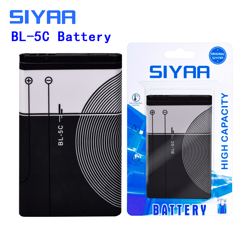 Image 4 - SIYAA Phone Battery BL 4C BL 5C BL 4B BL 5B For Nokia 6100 6300 6260 6136S 2630 5070 C2 01 Lithium BL 4C BL 5C BL5C Batteries-in Mobile Phone Batteries from Cellphones & Telecommunications