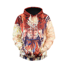Long Sleeve Sweater cosplay costume casual Dragonball 3D cartoon printing hooded sweater tide brand pullovers