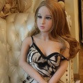 148cm Real Silicone Sex Dolls Realistic Lifelike Oral Anal Vagina Sex Toys for Men Solid Skeleton TPE Love Doll C-148-003