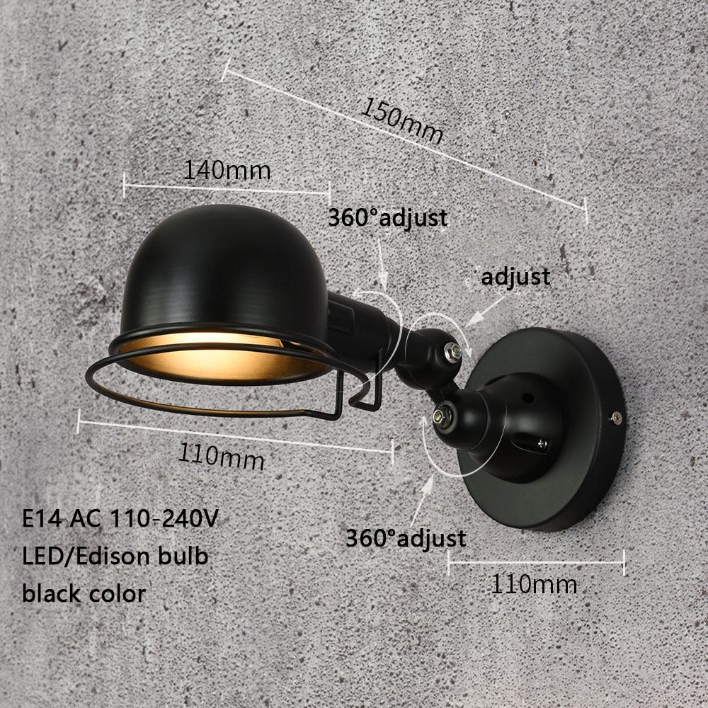 Lâmpadas de Parede casa sala de estar Direção da Sombra : Acima & Abaixo