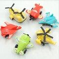 2009 juguete del bebé 12 unids/lote juguetes de Los Niños de vuelta en los coches pequeños aviones mini aviones